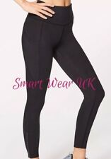 "Lululemon Legging Fast & Free 7/8 Tight II Nulux 25"" (US 6/UK 10) RRP £118"