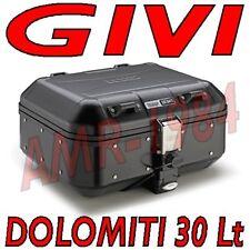 GIVI DLM30B VALIGIA BAULE TREKKER DOLOMITI  GIVI ALLUMINIO BLACK MONOKEY  30 lt.