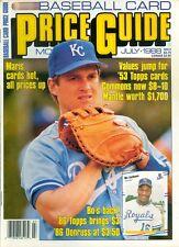 1988 Baseball Card Price Guide Magazine: Kevin Seitzer - Kansas City Royals