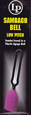 LP LATIN PERCUSSION HAND HELD LOW PITCH SAMBAGO BELL - NEW!