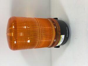 Allen Bradley Orange Siren Light