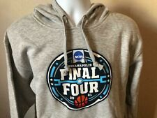 2021 Final Four NCAA Basketball Tournament Men's Bigcotton Hoodie Gray Size 3XL