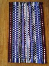 "NEW Braided Rug Purple, Pink, Blue, Gray Handmade, 26"" by 42"""