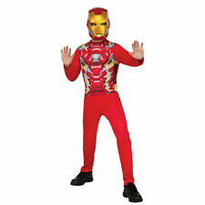 Captain America Civil War Iron Man Costume Marvel Comics Sz M 8-10 Rubies 620576