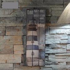 Vintage Nautical Home Decor Rustic Wooden Sign Plaque Wall Art Picture Design
