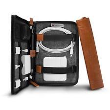 Twelve South Journal CaddySack Cognac Braun Leder Reise Tasche für Zubehör usw.