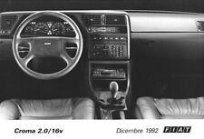 PHOTO PRESS ORIGINALE FIAT CROMA 2.0/16V - Dicembre  1992 (2)