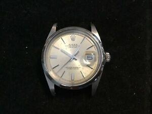 Vintage Rolex Datejust 1600 S/S 1-63