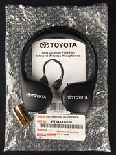 2014-2017 Toyota DVD Wireless Headphone Sienna Land Cruiser Highlander Venza OEM