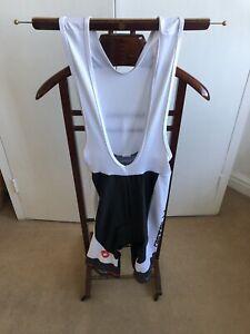 Castelli Bib Shorts Rosso Corsa White