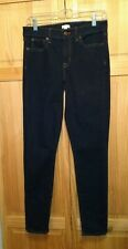 J Crew Stretch Midrise Skinny Jeans 27/30 see measurements