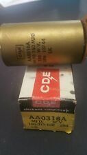 Cornell Dubilier capacitor #Aa0316a