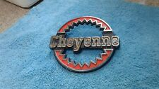 1973 1980 Chevy Truck Parts Cheyenne Emblems Badges Trim OEM Original Vintage