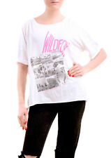 Wildfox Women's Short Sleeve New Clothing Top Clean Black Size S RRP $ 62 BCF76