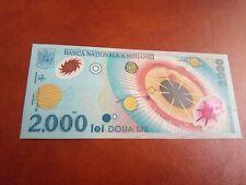 ROMANIA - 2000 LEI 1999 - ECLIPSA - UNC - BANKNOTES