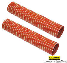Hot Air Hose Set, Silicone, Porsche 911/912/912E/914/930 (65-89), 930.211.622.01
