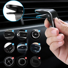 Floveme Magnetic Car Phone Mount Holder L Shape Clip Air Vent Auto Accessories (Fits: More than one vehicle)