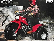 '83 Honda ATC110  Sales Brochure