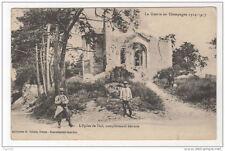 51 Guerre en Champagne 1914-1917 - 51 l'eglise de Thil, completement detruite