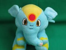 2004 Neopets Baby Boy Blue Yellow Elephante Elephant Knit Eyes Plush Stuffed