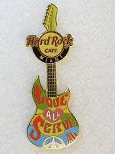 Hard Rock Cafe Pin Miami Peace Guitar