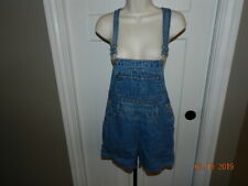 American Blues Bib Shortalls Overalls Womens M shorts Romper