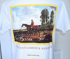 NEW! SOUTHERN MARSH GENTLEMEN'S FOX HUNT PREPPY TEE FRATERNITY T SHIRT SMALL S