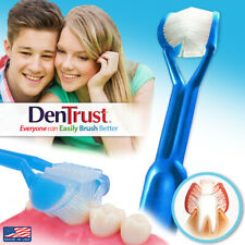 DenTrust | The Only Child-Safe 3-Sided Toothbrush | Clinically Proven Kids | USA