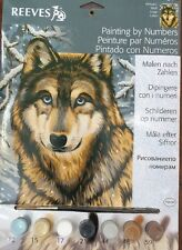 Reeves Painting By Numbers PPNJ67 Wolf