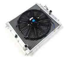 Universal 52mm Core Alloy Radiator & Fan Robin Hood Westfield zetec Kit Car