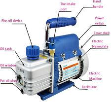 "220V 1L Mini Vacuum Air Pump for Vacuum Suction Filtration 3/8"" 1/4HP 2 Pa New"