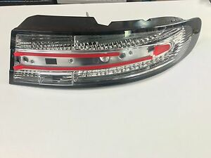 Aston Martin DB9/DBS/Virage Coupe - Clear Rear Lamp Kit with Black Border