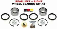 FOR SUBARU JUSTY HATCHBACK 1995-2003 NEW REAR LEFT + RIGHT WHEEL BEARING KIT X2