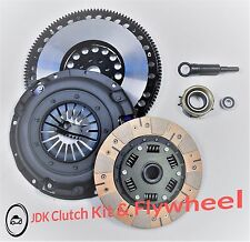 JDK DUAL FRICTION PERFORMANCE CLUTCH KIT & Flywheel For LEGACY IMPREZA 2.5L N/T