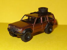 1984-2001 JEEP CHEROKEE 4X4 TRUCK CHERRY RED 1/64 SCALE LIMITED EDITION PW