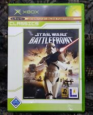 XBOX Spiel Star Wars - Battlefront Classics + Anleitung guter Zustand + OVP