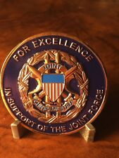 JCOS J8 Directorate Force Structure, Resource  Challenge Coin