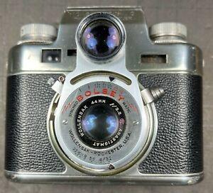 BOLSEY MODEL C: UNUSUAL 35mm SLR/RF HYBRID FROM THE MID-TWENTIETH CENTURY