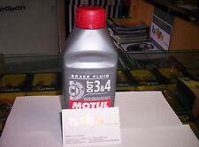 MOTUL DOT 3 4 Liquido Olio Comandi idraulici Freni Frizioni 100% Sintetico 500ml