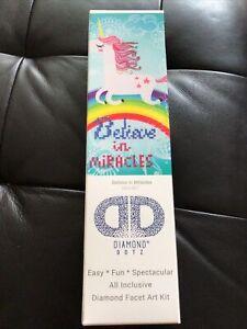 Diamond Dotz Diamond Embroidery Facet Art Kit -Believe In Miracles-DD3.007