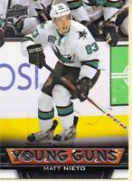 Matt Nieto  2013-14 Upper Deck Young Guns #247 RC