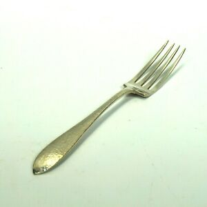 """Puritan Hammered by Wallace Sterling Silver .925 Lunch Forks 7 1/8"""" No Monogram"""