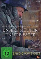 DOPPEL-DVD NEU/OVP - Unsere Mütter, unsere Väter - Volker Bruch & Tom Schilling