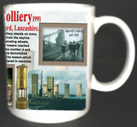 AGECROFT COLLIERY COAL MINE MUG. LIMITED EDITION. GREAT GIFT. MINERS, LANCASHIRE
