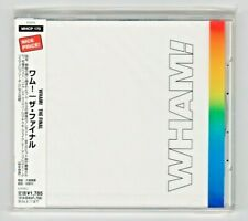 WHAM! (George Michael) - The Final CD with OBI - JAPAN Factory Sealed FREE UPS