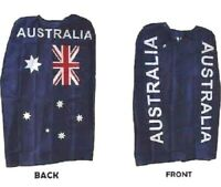 AUSTRALIAN FLAG CAPE ANZAC AUSTRALIA DAY PARTY DECORATION AUSSIE COSTUME