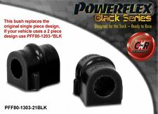 Opel Astra H 04-10 Powerflex Black Front ARB Bushes 21mm 1Piece PFF80-1303-21BLK