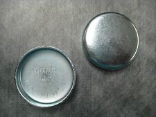 """40mm (1.57"""") Steel Freeze Plug - Pack of 2 - Made in USA - Ships Fast!"""