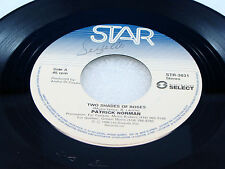 PATRICK NORMAN - Two Shades Of Roses / Love's A Crazy Game - 1988 VG++ CANADA 45