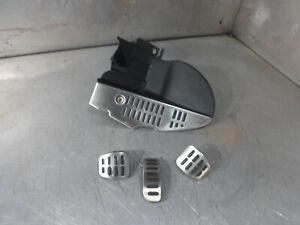 Audi TT 8N 1998-06 MK1 225 Quattro 1.8T pedal set + foot rest brushed alloy 12/8